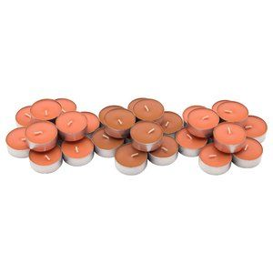60 Pack - Scented tealight, Peach and orange